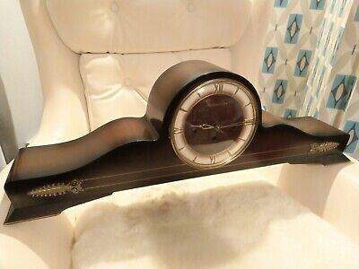 Large,Long, Vintage Westminster Chimes Napoleon Mantle Clock