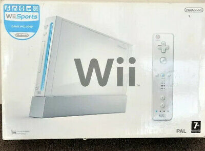 Nintendo Wii Console in Original Box (Complete With Games)