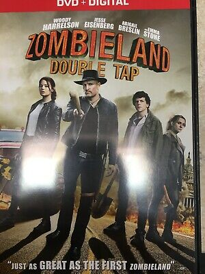 Zombieland: Double Tap [DVD] [2019] Like New Resurfaced Ready To Go