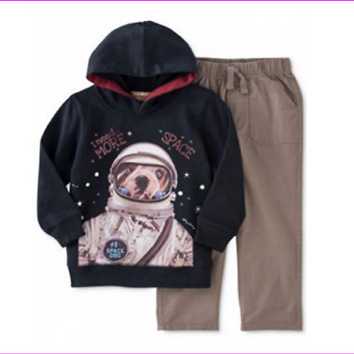 Little Ranger Hoodie and Pants Set 18M 24M New Kids Headquarters Baby Boys 2-Pc