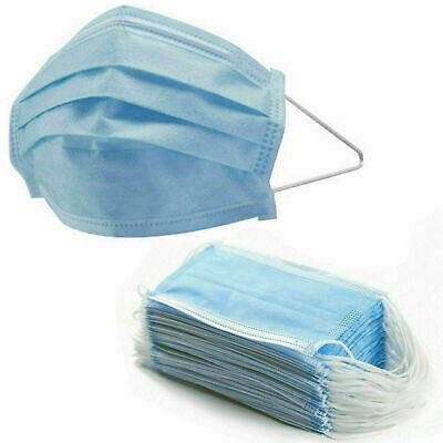 Professional Medical Face Mask 10Pcs Disposable Anti Bacteria 3 Ply Surgical