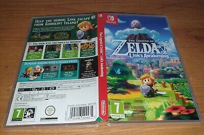 The Legend of Zelda: Lionk's Awakening - EMPTY -  Nintendo Switch Game Case ONLY
