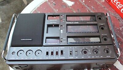 Grundig Satellit 3400 BROWN CABINET GOOD CONDITION