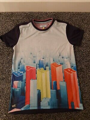 Boys Ted Baker T-Shirt Age 9-10 Years