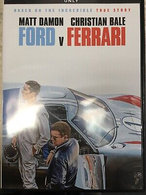 Ford V Ferrari Like New DVD * ACTION DRAMA * FAMILY Now Shipping Today!