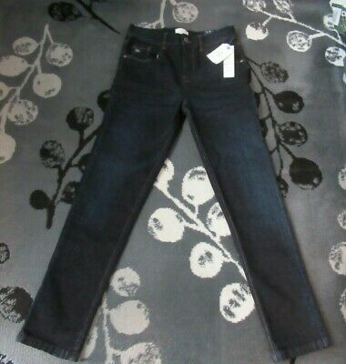 New Jasper J Conran At Debenhams Stretch Skinny Dark Indigo Jeans Age 12Yrs  #R*