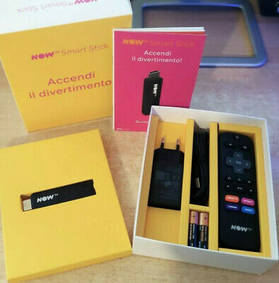 Now Tv Smart Stick Nuova (Senza Ticket)