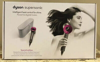 Dyson Supersonic Hair Dryer 3 Styling Accessories Special Edition Case