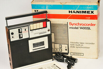 Hanimex Synchrocorder Model 1400SL Cassetter Recorder and Projector Synchroniser