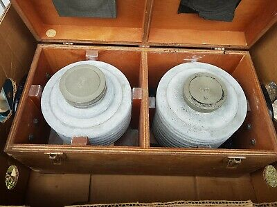 Cased Set Of Calibrator Test Weights PSI  Dead