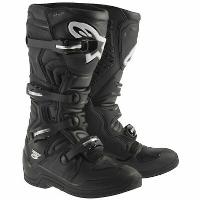 Alpinestars Tech 5 Motocross Boots Black Size 8 |*FAST SHIPPING!!*