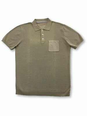 Massimo Rebecchi cotton polo shirt in beige FAULTY S