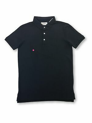 Lindbergh cotton polo shirt in navy FAULTY S