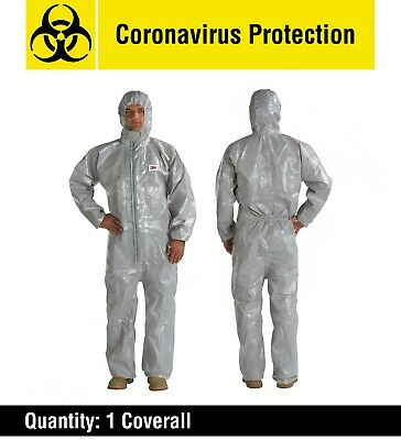 Protective Coverall - Hazmat Virus Anti-Infection Clothing Suit - Medium