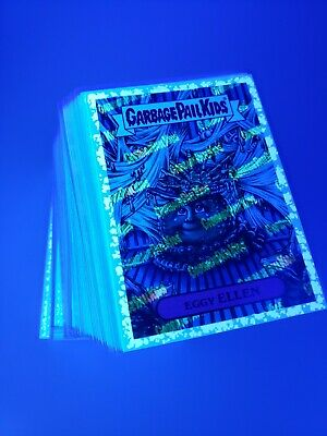 2019 Garbage Pail Kids Revenge of Oh The Horror-ible 180 Blacklight Cards