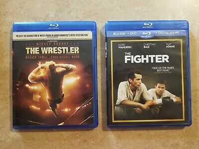 The Wrestler Blu Ray and The Fighter Blu Ray 2ct LOT