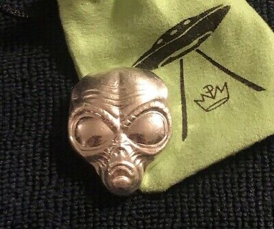 2 oz. Alien Art Bars by Monarch Precious Metals - Comes With Themed Pouch