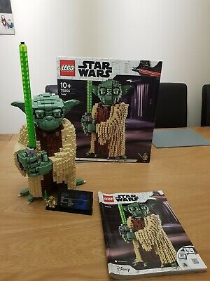 Lego Star Wars 75255 Yoda  Complete Box Instructions