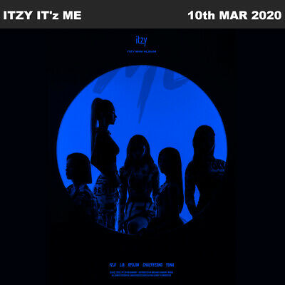 ITZY IT'z ME MINI Album 3SET CD+Photobook+Photocard+Etc+Tracking Number