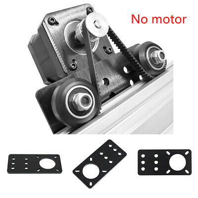 For NEMA17 Stepper Motor Mounting Plate, Anodized 39.5x82x3mm