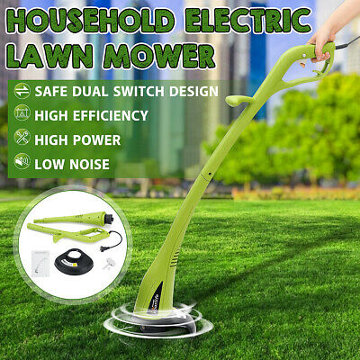300W Electric Corded Grass Trimmer Weed Lawn Cutter Strimmer Garden Home Yard