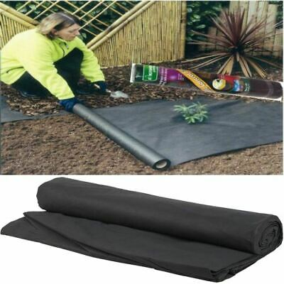 Heavy Duty Weed Control Fabric Membrane Garden Landscape Ground Cover Sheet 1.5m