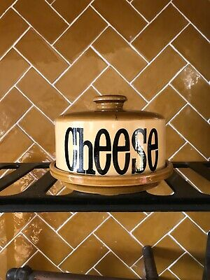 TG Green Granville cheese dish with lid