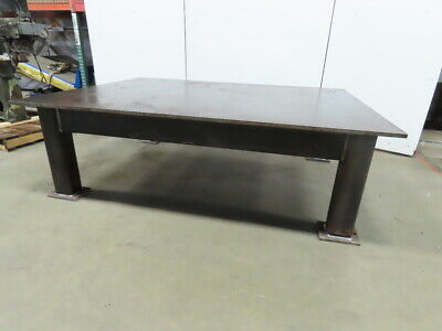 """H.D. 7/8"""" Thick Top Steel Fabrication Layout Welding Table Work Bench 72""""x96"""""""