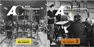 Alex Christensen & The Berlin Orchestra - Classical 90s Dance 1 + 2 2CD NEU