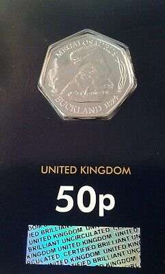 Dinosaur Megalosaurus _ Fifty Pence 50p Coin _2020 _ Brilliant Uncirculated