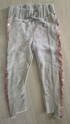 ZARA Girls Grey Joggers 5 years Great Condition