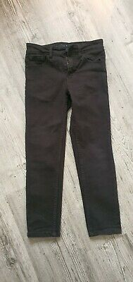SKINNY next Boys Black Jeans Size 8 Excellent Condition