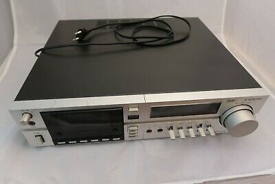 BASF D-6235 HiFi Stereo Cassette Deck Dolby B Noise Reduction - 1979