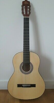 Rio Natural 39 Inches 4/4 Full Size Acoustic Nylon Classical String Guitar