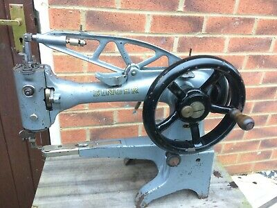 Antique Singer Walking Foot 29K71 Cylinder Arm Boot Patcher Industrial Machine