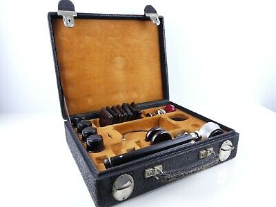 Contax Rangefinder Camera Outfit Case With Lens Filters Tripod & Extras Bb78