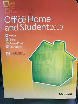 Microsoft 79G-02144 Office Home and Student 2010