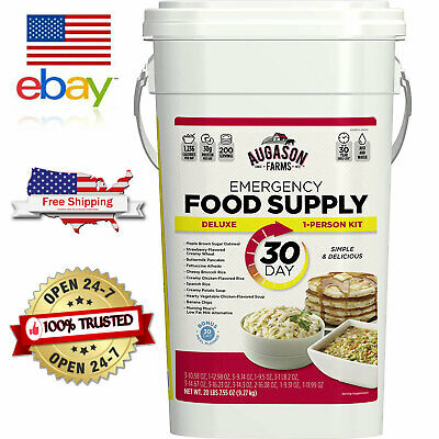 Augason Farms Deluxe Emergency 30-Day Food Supply, 200 Servings, 20 lbs. 7 oz