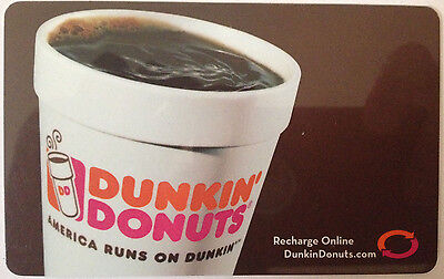 Dunkin Donuts Gift Card - NO VALUE
