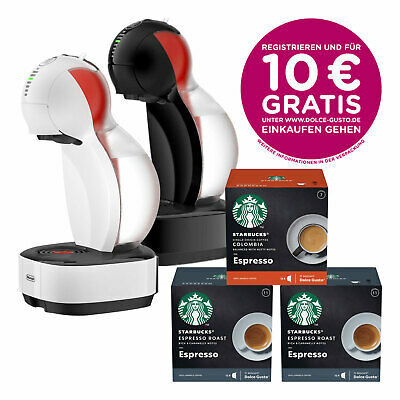 NESCAFÉ Dolce Gusto DeLonghi EDG 355 Colors Kaffeemaschine STARBUCKS Bundle