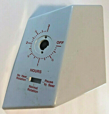 Ronco Showtime Rotisserie Model 4000 Parts: Timer Assembly Housing