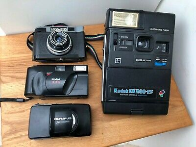 Vintage Camera Job Lot Film Kodak Olympus 105 Collection
