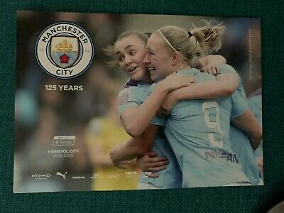 Man City FC Women v Bristol City FC Women Programme (Season 2019-2020)
