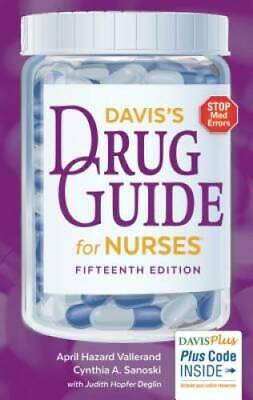 Davis's Drug Guide for Nurses - Paperback - GOOD