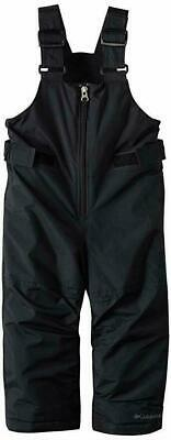 Columbia Big Girls' Snowslope Ii Bib Snowpant Black Youth Size L SG8394