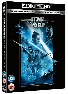 Star Wars: The Rise of Skywalker (4K Ultra HD + Blu-ray) [UH RELEASED 20/04/2020