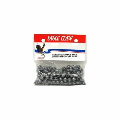 50 Eagle Claw Stainless Steel O/'Shaunessy Hooks 3//0 trot line