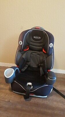 Graco Nautilus 65 3-in-1 Harness Booster Car Seat, Bravo Gray