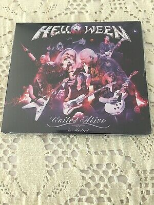 Helloween United Alive 3 CD Set (Different Tracks)