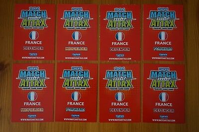 Official Topps Match Attax Trading Card x8 FRANCE